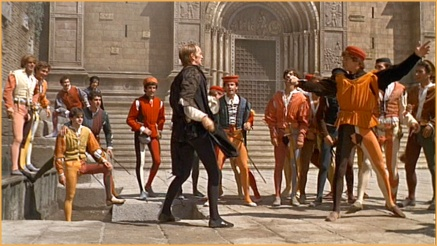 Image result for mercutio vs tybalt zeffirelli